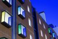 Sean Harrington Architects-York street housing dusk
