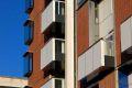 Sean Harrington Architects-York street housing brick balcony windows