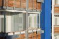 Sean Harrington Architects-York street housing steel beams balcony glass