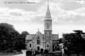 Postcard photograph of St. Mary's Catholic church, Ballinrobe. From Valentine's series. No date.