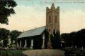Postcard photograph of St. Mary's Protestant church Ballinrobe. Date on postmark, 1908