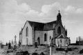 Postcard photograph of Ballindine church. Published for Bourke's Post Office, Ballindine. No date